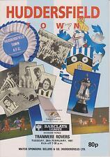 Huddersfield Town V Tranmere Rovers 90-91 partido de Liga