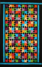 Cross Roads to Bali quilt pattern by Kathy Adams (KoolKat Quilting)