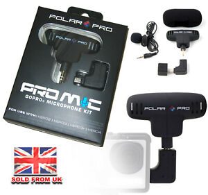 Pro Mic Professional GoPro Microphone Kit for GoPro HERO 2 3 3+ & 4 cameras NEW!