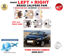 FOR FORD FOCUS II CONVERTIBLE FRONT LEFT + RIGHT BRAKE CALIPER 2006-2011 1.6 2.0