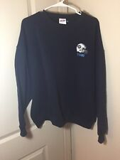 Vtg Majestic Tennessee Titans Sweatshirt Size L Navy Logo