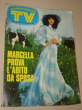 TV SORRISI CANZONI=1974/18=MARCELLA BELLA=OLIVER ONIONS=RITA BALDONI=BOSETTI G.