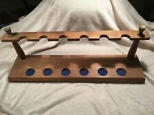 Nice wooden pipestand for 6 pipes!