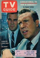 1962 TV Guide October 27-Edmond O'Brien; Jackie Gleason; June Lockhart;Virginian