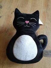 Interior Door Stop - Black Cat weighted Doorstop/Stay