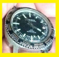 g  Superwaterproof  60 mt GMT world SUB  RARE DIVER wristwatch men 1960-70' apr