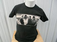Vintage Tultex U2 The Joshua Tree 1987 European Tour Black Medium T-Shirt Reprod