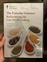 The Everyday Gourmet Rediscovering the Lost Art of Cooking (4 DVD Set, 2012)
