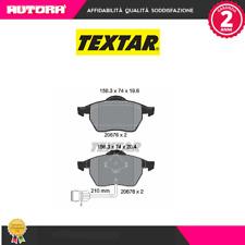 2067602 Kit pastiglie freno a disco ant Audi (MARCA TEXTAR)