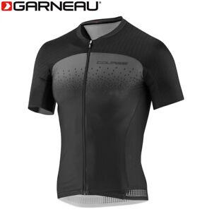 Louis Garneau Course M-2 Race Men's Cycling Jersey - Black Grey