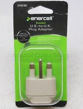 US-to-UK Plug Adapter Grounded Enercell #273-182