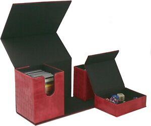 Ultimate Dragon Hide Deck Box Holds 192 Cards &15 Dice CCG YUGIOH MTG POKEMON