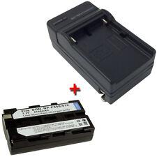 Battery + Charger for SONY Handycam DCR-VX1000 DCR-VX1000E DCR-VX2000 DCR-VX2001