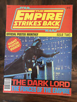 Original Star Wars Empire Strikes Back Official Poster Monthly Issue Two 2 Darth