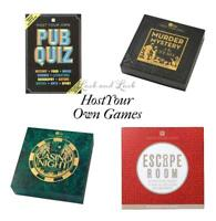 Christmas Host Your Own Party Games CASINO ESCAPE ROOM MURDER MYSTERY PUB