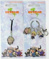 Hetalia World Series Cell Phone Charm Keychain 2010 America England Russia anime