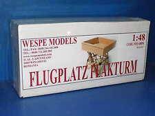 Wespe Modelos 1/48 48056-Flugplatz flakturm-Kit de modelo de resina