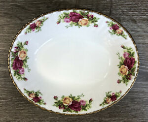 Royal Albert, Old Country Roses, Oval Open Vegetable Bowl ~new~