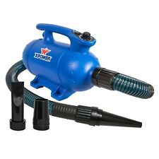XPOWER B-24 Thermal Ace 3 HP Variable Speed Dog Blaster Force Pet Dryer w/ Heat