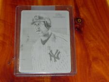 2010 Topps Black Printing Plate Alex Rodriguez Yankees 1/1 National Chicle MLB