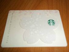 Starbucks Korea 2016 Cherry Blossom Card - White - Pin Intact