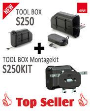 GIVI S250 Tool Box (Werkzeugtasche) inklusive dem S250KIT Montagekit