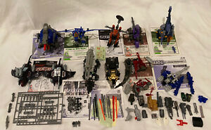 Large TOMY Zoids Lot 9 Near Complete Figures W/Parts Ptera Striker Saber Turtle