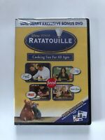 Ratatouille Cooking Fun For All Ages (DVD) Wal-Mart Bonus - SEALED