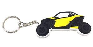 Can Am Maverick X3 Custom Rubber Keyring Key Chain