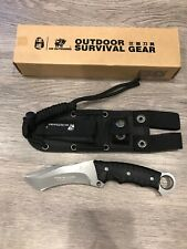 Tactical Knife Blade 9 Fixed Survival Hunting W Sheath Military Combat Camping