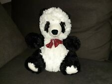 Dan Dee Panda Plush With Red Bow