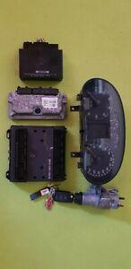 Vw Polo 9N 9N3 Bj. 2006 Wegfahrsperren SET Motorsteuergerät 03C906024F