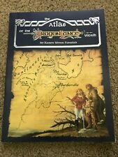 The Atlas of the Dragon Lance World 1987 soft cover first edition EUC