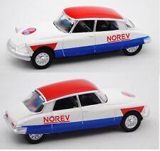 Norev SERIE 600 CYCLISTE 310603 Citroen DS 19 Cycliste, weiß/rot/blau