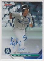 KYLE LEWIS 2016 Bowman's Best Baseball Autographed Rookie Card Seattle Mariners