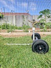 Pasture Master Rolling Sprinkler Cart W/Vyr #70 Longest Throw From A Garden Hose