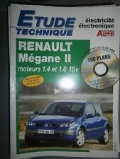Renault MEGANE II essence + CC : Revue technique Autovolt 808 +CD