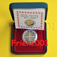 België - Belgique - 2 euro 2014 proof.(Rode Kruis/Croix Rouge).