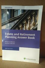Wolters Kluwer Estate & Retirement Planning Answerbook  2018