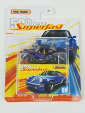 2019 Matchbox  50TH Anniversary Superfast 1980 Porsche 911 Turbo Moving Parts
