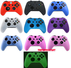 Silicone Rubber Skin Case Gel Protective Cover For Xbox One Wireless Controller