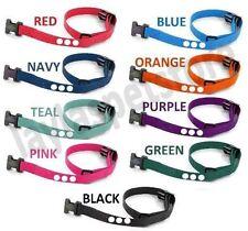 "PetSafe Basic Deluxe Bark Collar Compatible Strap PBC-302 PDBC300 BLACK 3/4 """