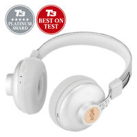 House of Marley Positive Vibration 2 Wireless Bluetooth On-Ear Headphones Silver