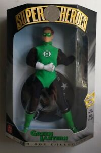 NEW GREEN LANTERN DC SUPER HEROES SILVER AGE COLLECTION 1999 HASBRO FIGURE! S32