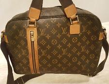 Authentic Louis Vuitton Sac Bosphore Briefcase Monogram Canvas Messenger Bag