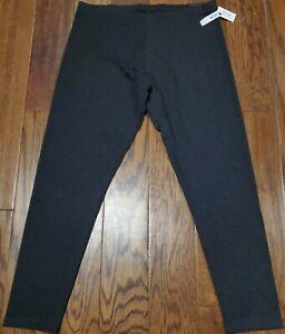 Women's XL Victoria's Secret Sport Leggings Dark Gray NWT! Fast Ship!