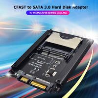 CFAST to SATA 3.0 HDD Adapter Card SATA Computer 22 Pin CFAST Card Reader