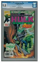 Incredible Hulk #458 (1997) Marvel Comics CGC 9.8 White Pages ZZ332