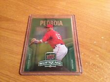 2010 Upper Deck Green Supreme Dustin Pedroia S-6 Boston Red Sox