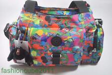 New With Tag KIPLING FAIRFAX MEDIUM SHOULDER AND CROSSBODY BAG - Art Party Print
